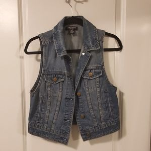 Summer Jean Vest